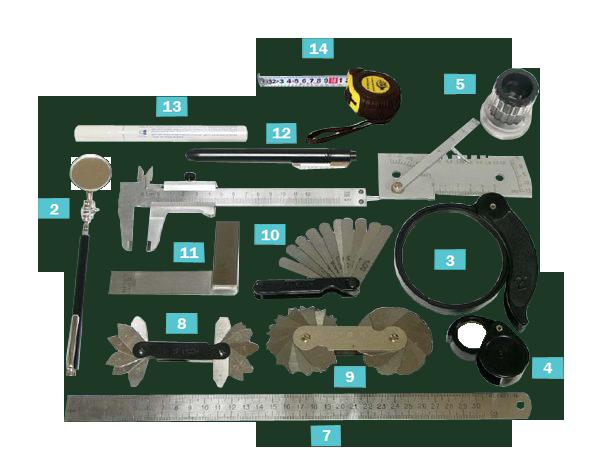 Комплект для визуального контроля ВИК-1